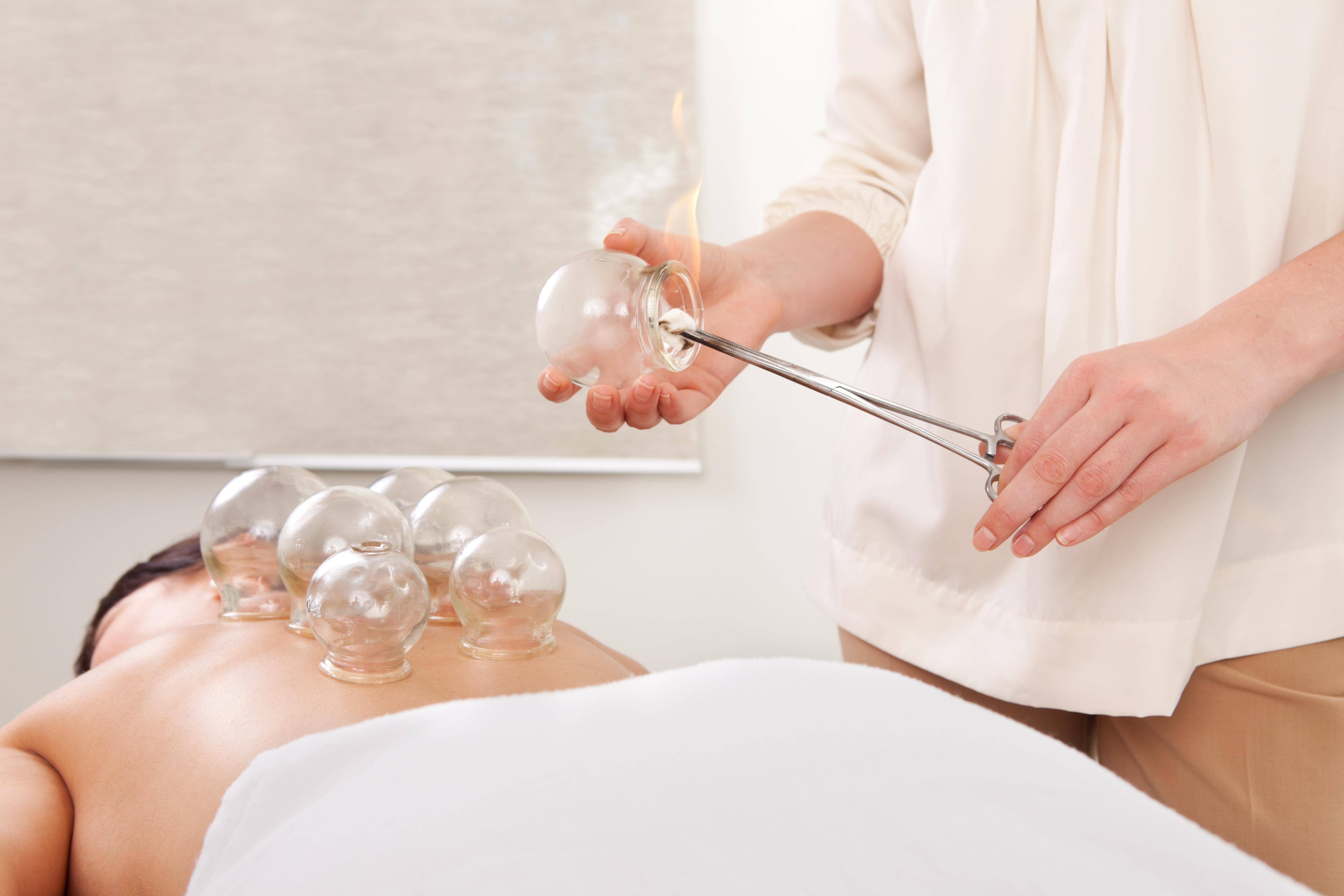 effektiv massage med koppning