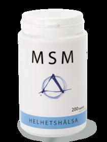MSM kapsel